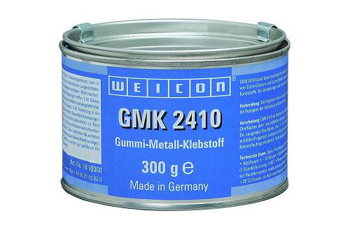 weicon gmk 2410 gummi metall klebstoff 300 g ebay. Black Bedroom Furniture Sets. Home Design Ideas